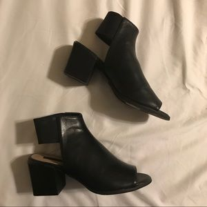 F21 shoes with block heel.